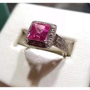 10k Clyde Duneier (CID ) Pink Sapphire Ring 10k